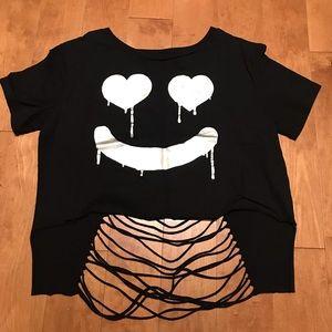 Forever 21 smile shirt